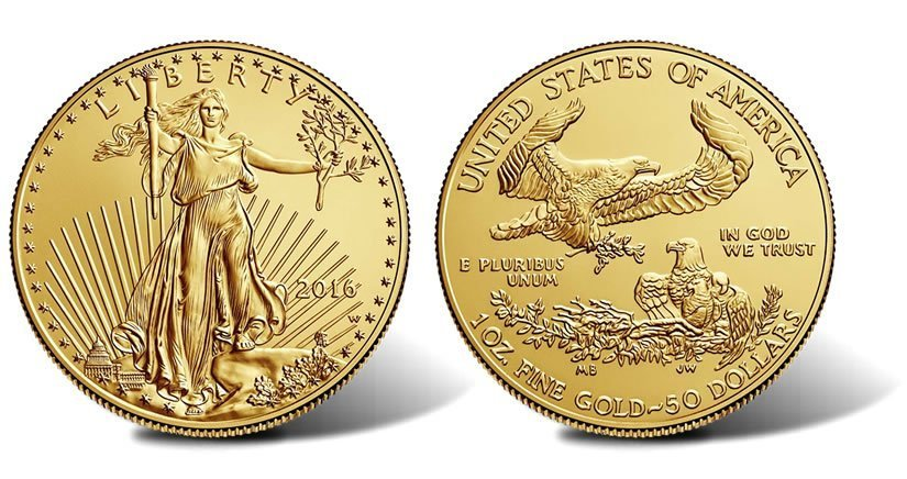 1_oz_American_Gold_Eagle_BU - Homosassa Gold Buyer Coin Shop