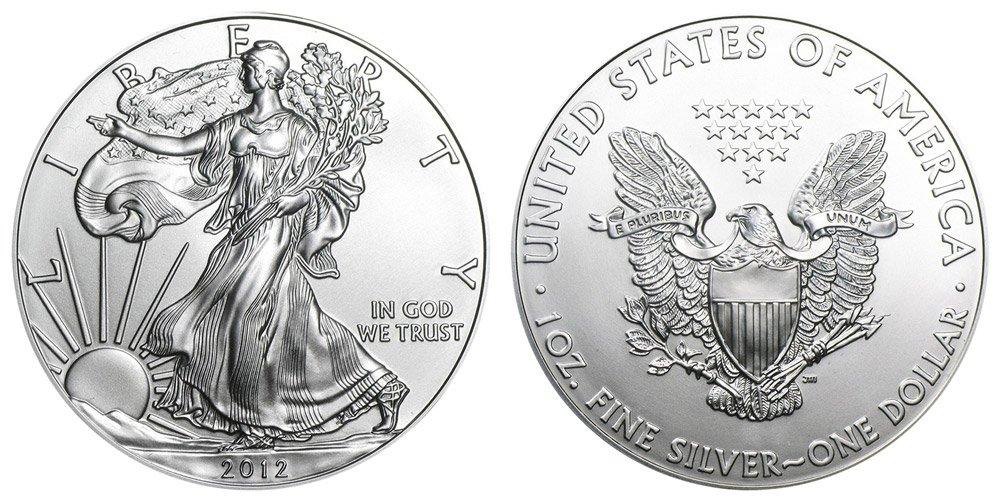 1_oz_American_Silver_Eagles_BU - HUDSON COINS GOLD COINS COIN SHOP COIN DEALER GOLD DEALER