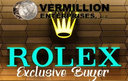 ROLEX BUYER NEAR ME -Vermillion Enterprises - Serving Brooksville, Crystal River, Dade City, Floral City, Gainesville, Holiday, Homosassa, Hudson, Inverness, Jacksonville, Land O Lakes, Lutz, Lecanto, New Port Richey, Odessa, Spring Hill, Tampa, Tarpon Springs, Palm Harbor, Wesley Chapel, Ocala,Orlando, Kissimmee, Zephyrhills - Gold Dealer. Coin Shop. Jewelry Buyer. Rolex Buyer. - WE BUY WATCHES! WRIST & POCKET WATCHES - GOLD, SILVER, & PLATINUM. Cash For Gold. Scrap Gold. Gold Dealer Near Me. Scrap Gold Dealer Near Me. Rolex Buyer Near Me. Jewelry Buyer Near Me. Scrap Gold Near Me. Local Dealer: 5324 Spring Hill Drive, Spring Hill, FL 34606 Ph: 352-585-9772
